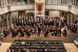 """Aufführung des Oratorium """"Die letzten Dinge"""" von Louis Spohr am 31. Oktober 2013"""