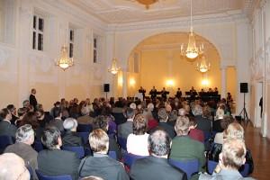Empfang in der Karlshalle zur Verabschiedung von KMD Rainer Goede