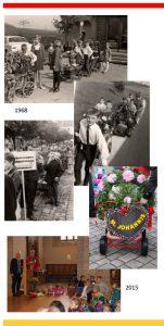 Damals (1968) - Heute (2015) - der Erntedankumzug in Ansbach wird 100!
