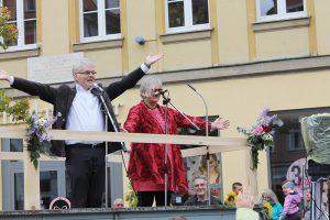 100. Erntedankumzug am 2. Oktober 2016 in Ansbach