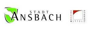 Logo Stadt Ansbach und Bezirk Mittelfranken